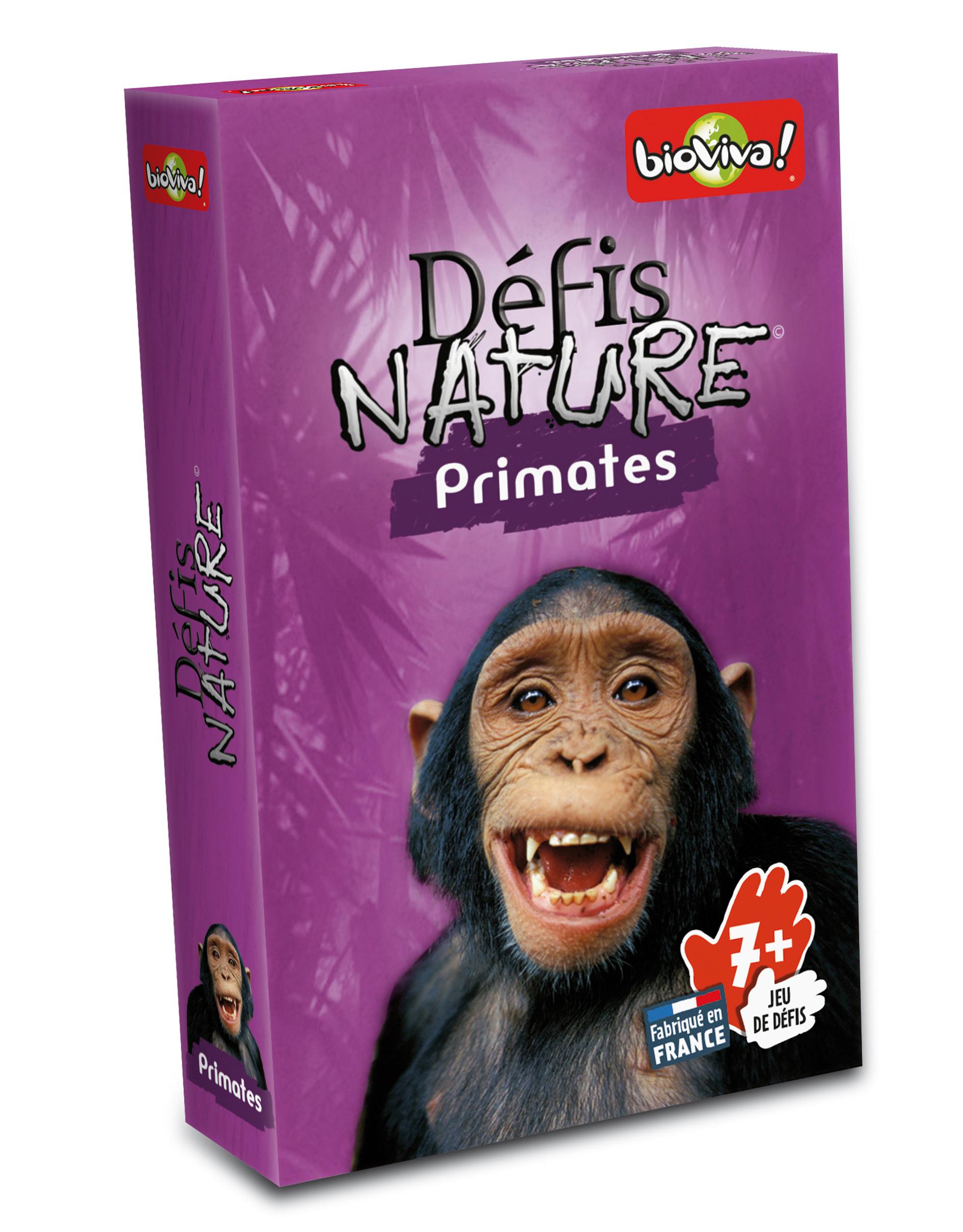 Défis Nature - A la rencontre des primates