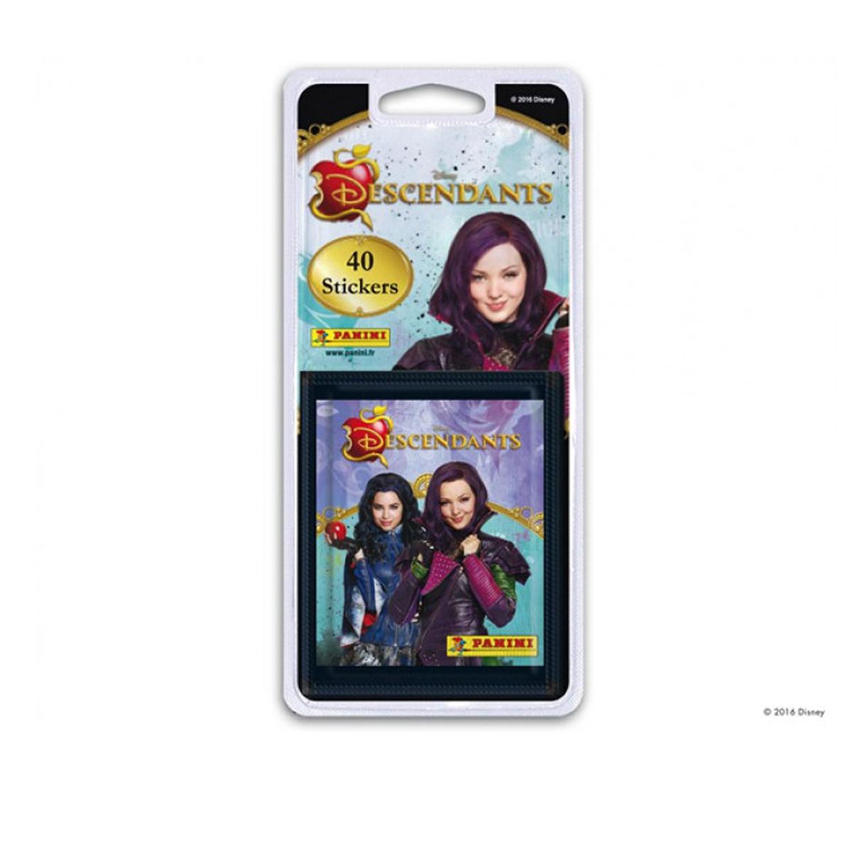40 stickers Panini - The Descendants - 8 pochettes
