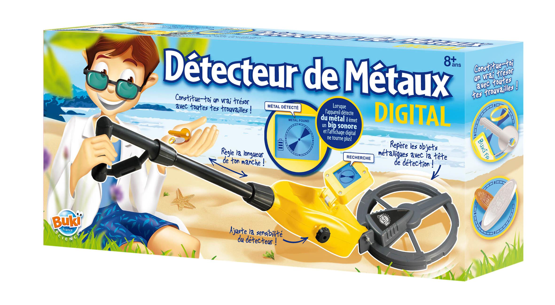 Détecteur de Métaux digital - Buki