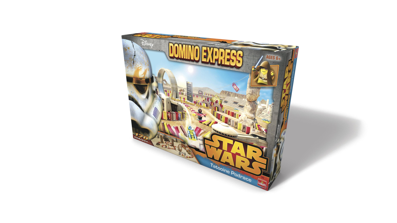 Dominos Express Star Wars - Course de podracer à Tatooine