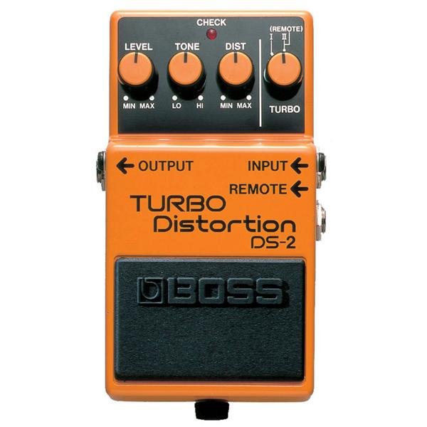 Boss - Pédale DS-2 : Turbo Distorsion Mode Turbo Ii Switchable