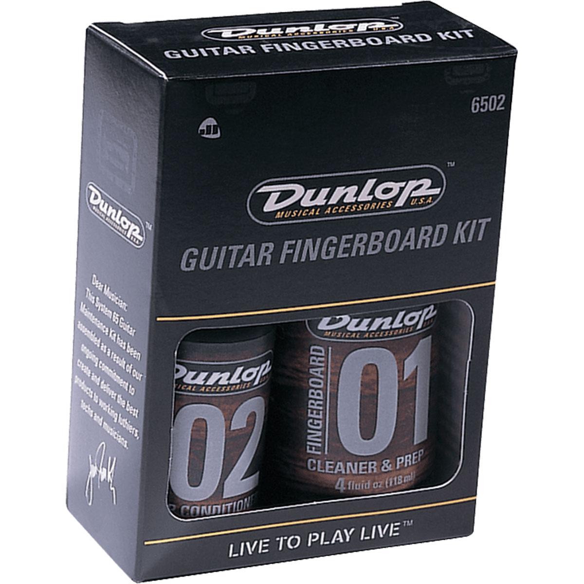 Dunlop - Kit pour touche de guitare ou basse 6502