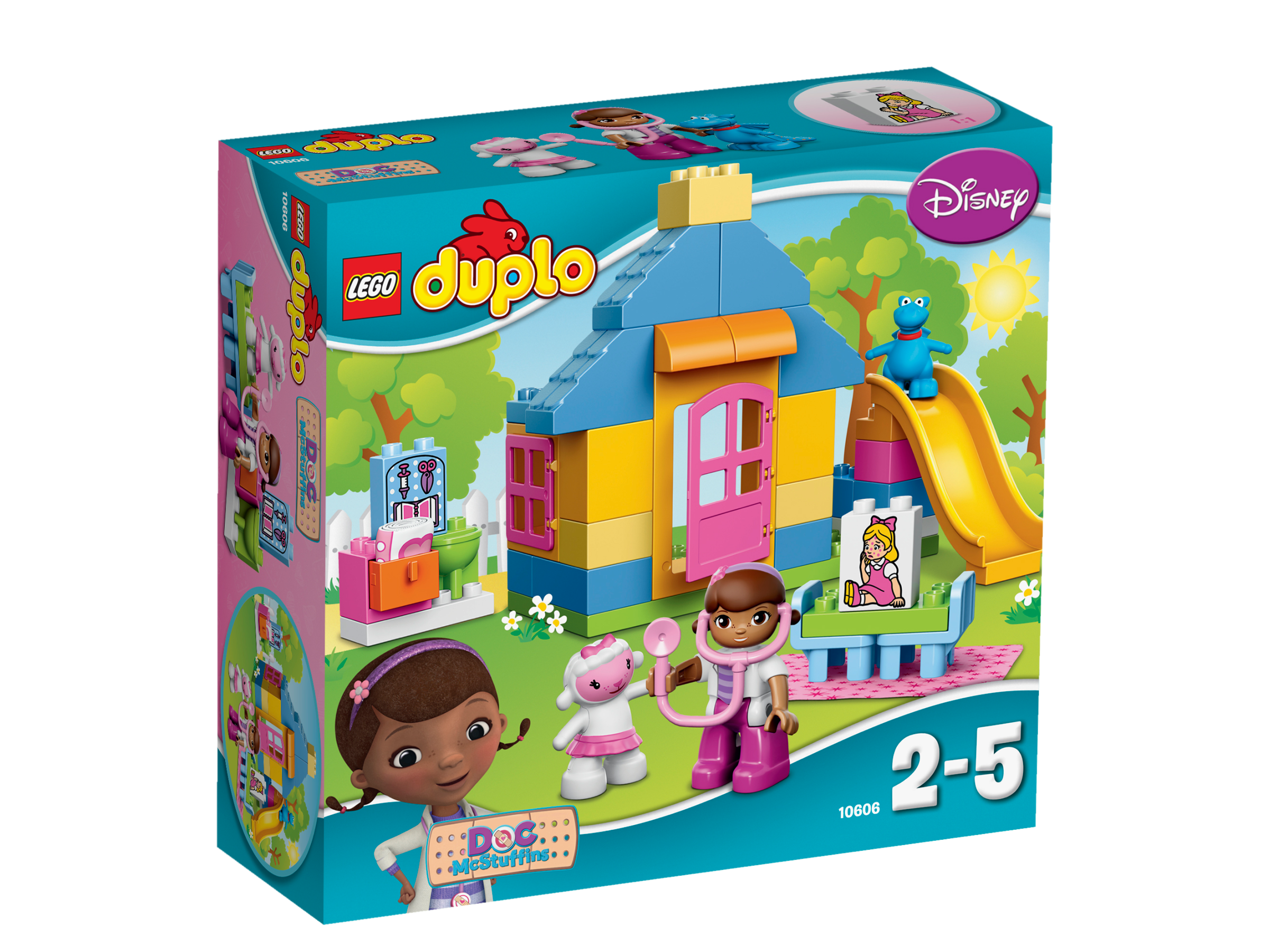 La clinique de Docteur La Peluche - LEGO® DUPLO® Docteur la peluche - 10606