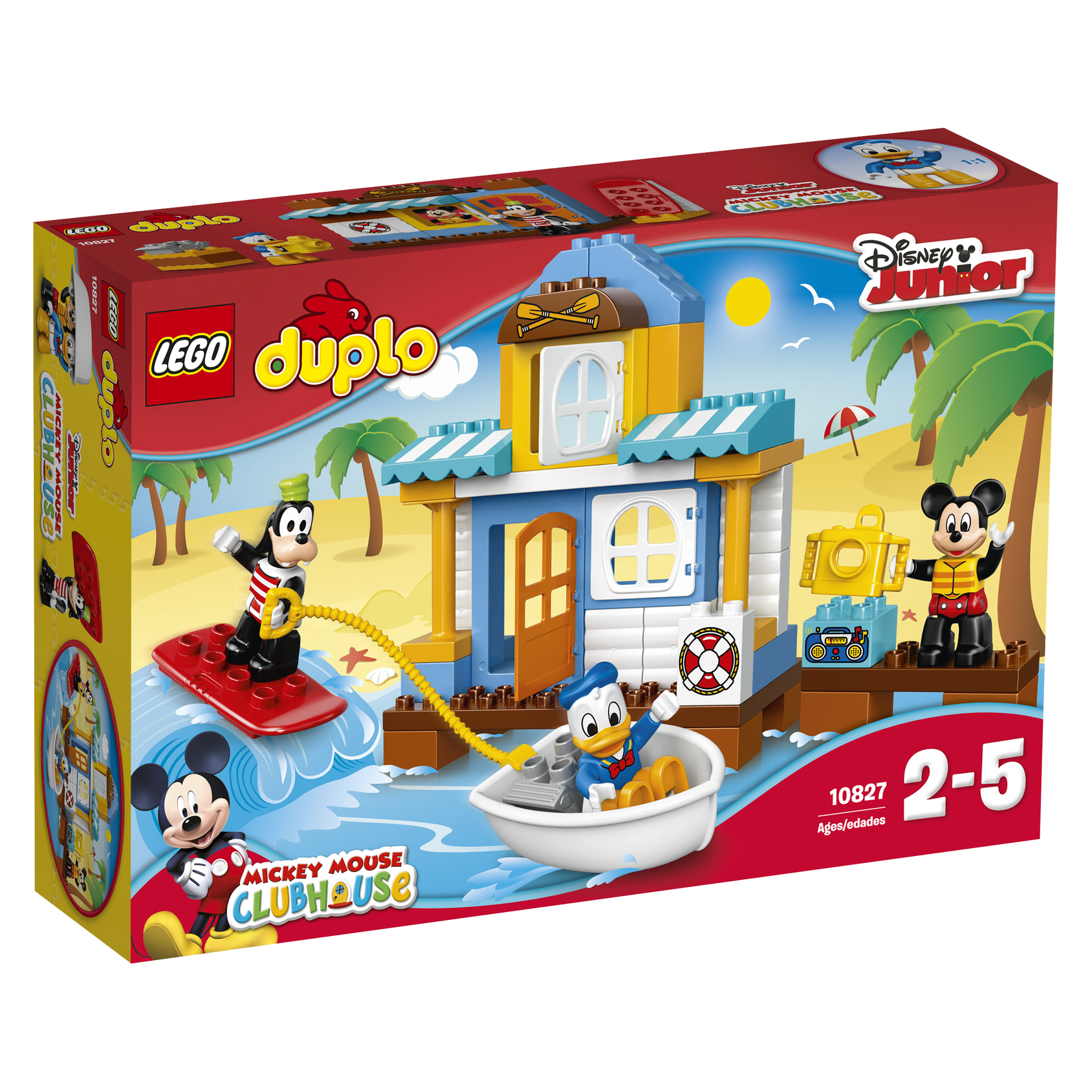 La maison à la plage de Mickey et ses amis - LEGO® DUPLO® Disney - 10827