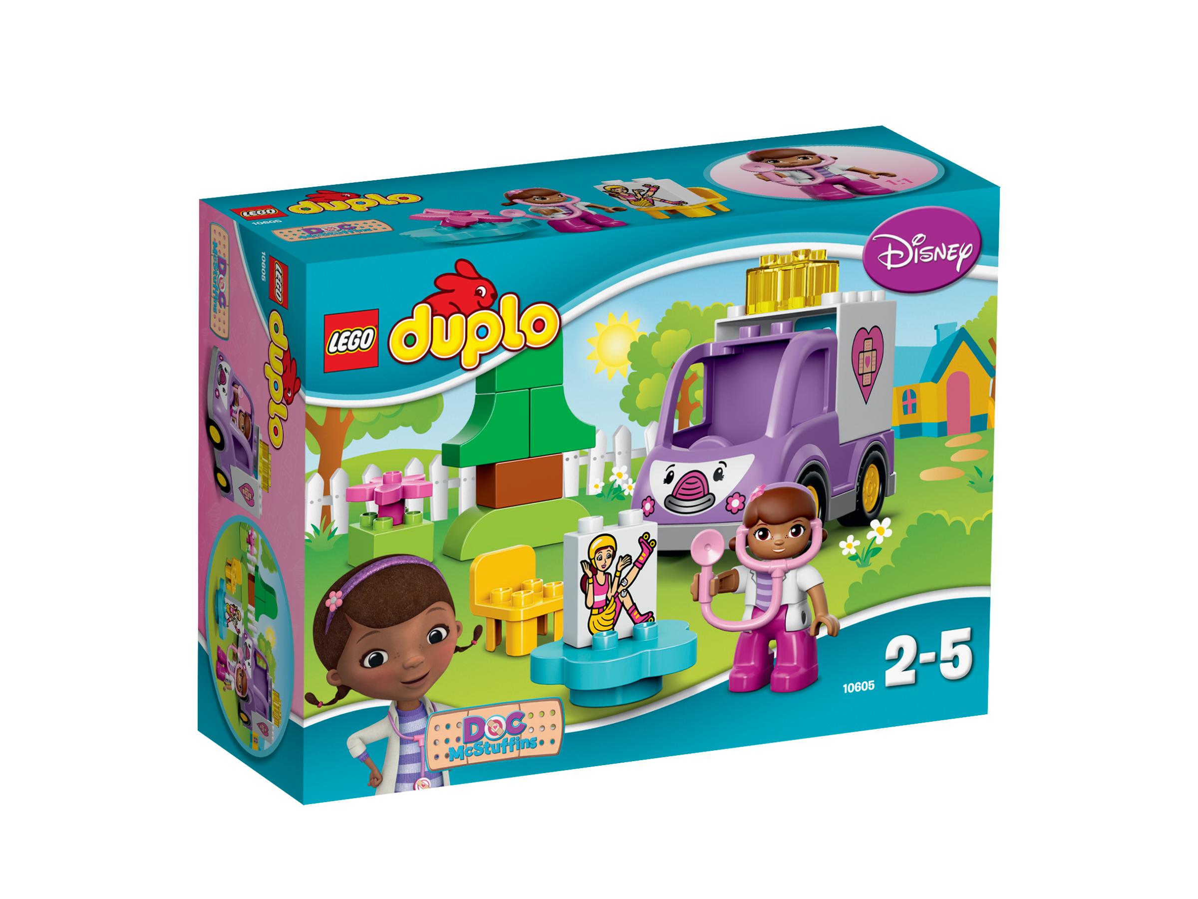 Rosie l'ambulance de Docteur La Peluche - LEGO® DUPLO® Docteur la peluche - 10605