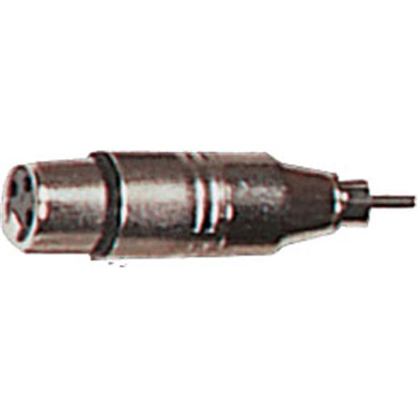 Yellow Cable - Adaptateur RCA mâle-XLR femelle