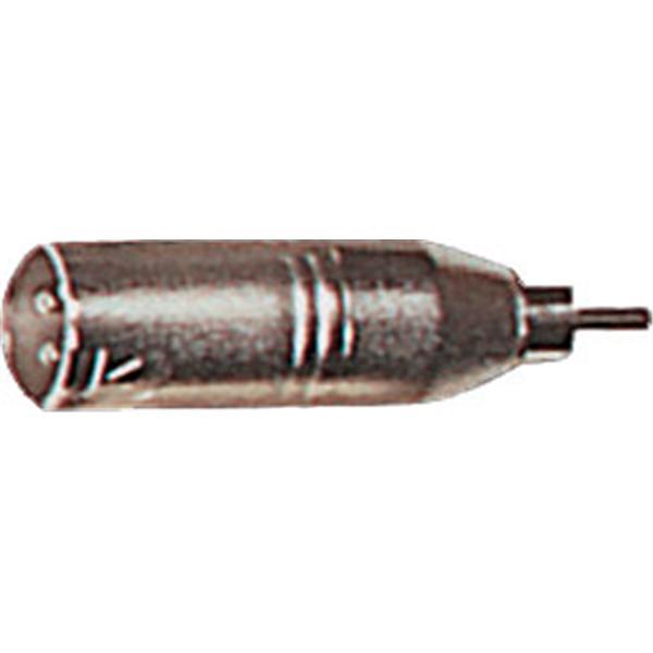 Yellow Cable - Adaptateur RCA mâle-XLR mâle