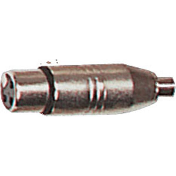 Yellow Cable - Lot de 2 adaptateurs RCA femelle-XLR femelle