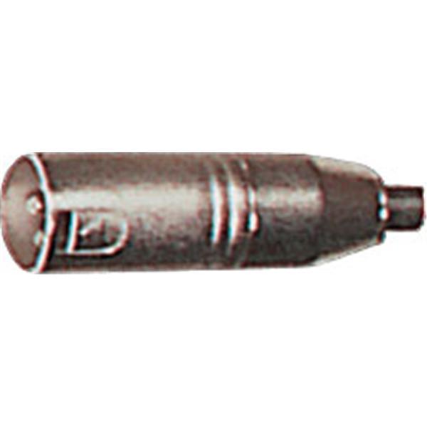 Yellow Cable - Lot de 2 adaptateurs RCA femelle-XLR mâle