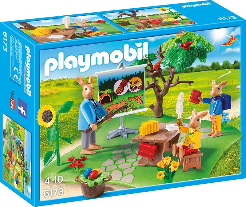 École des lapins - Playmobil