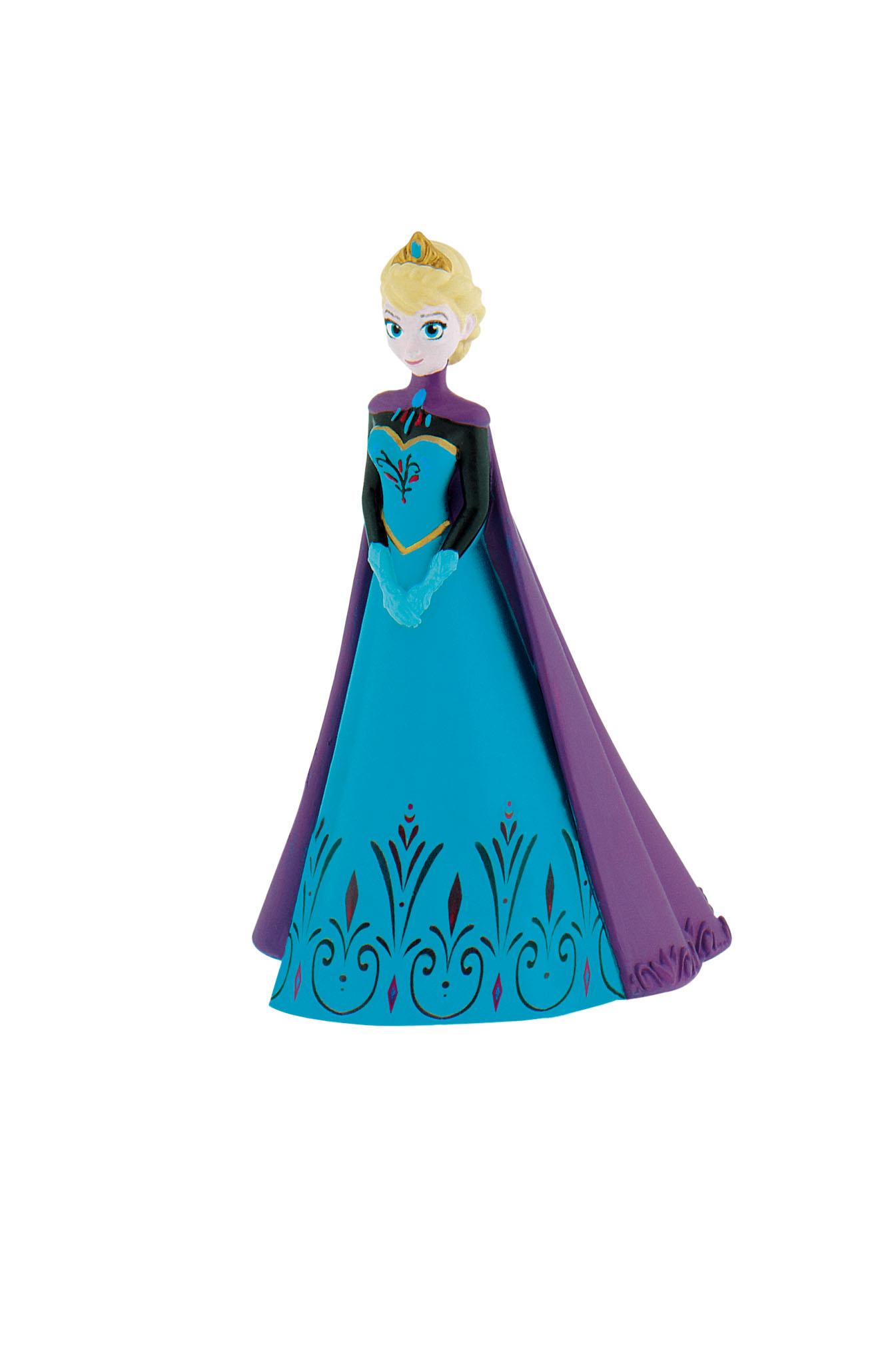 Figurine La Reine Des Neiges Disney - Elsa ave cape - 12 cm
