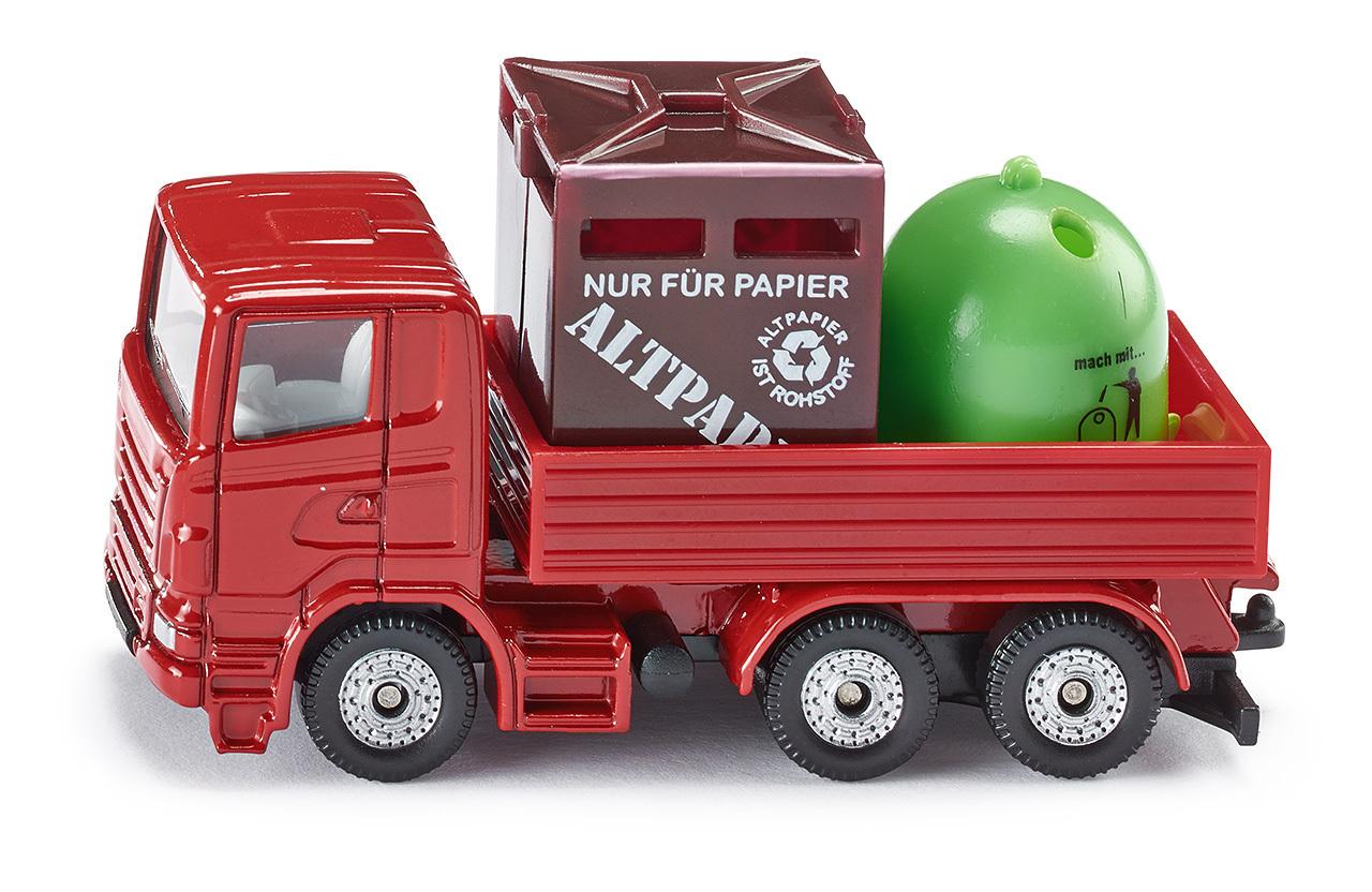 Engin de recyclage - Siku - Modèle 828