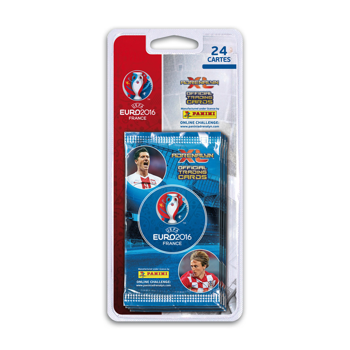 Stickers Panini UEFA Euro 2016 - 24 cartes TC Adrenalyn XL