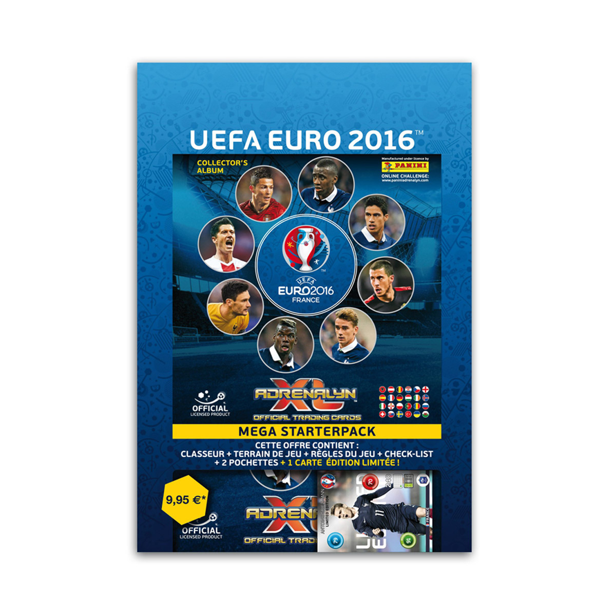 Panini Starter Pack TC Adrenalyn XL UEFA Euro 2016