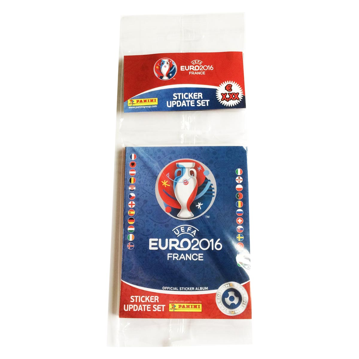 Set mise à jour 72 stickers - Euro 2016