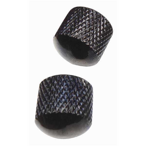 Ez Fit - Boutons de réglage - EZ1223B - Dome Metal Noir
