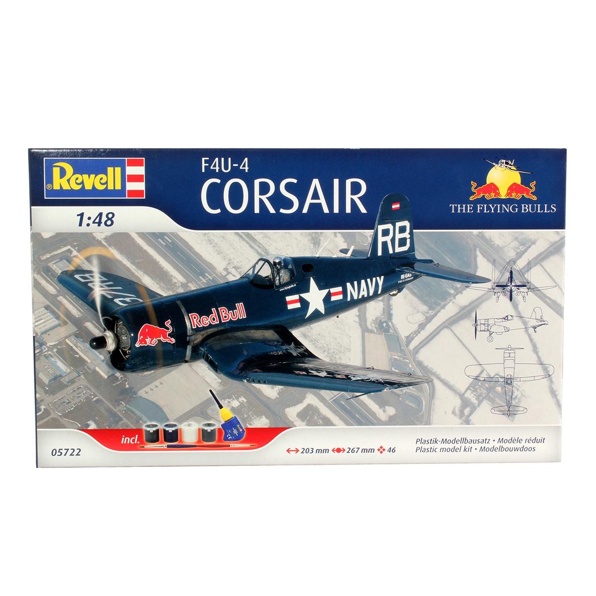Coffret Cadeau - Maquette F4U-4 Corsair «The Flying Bulls»