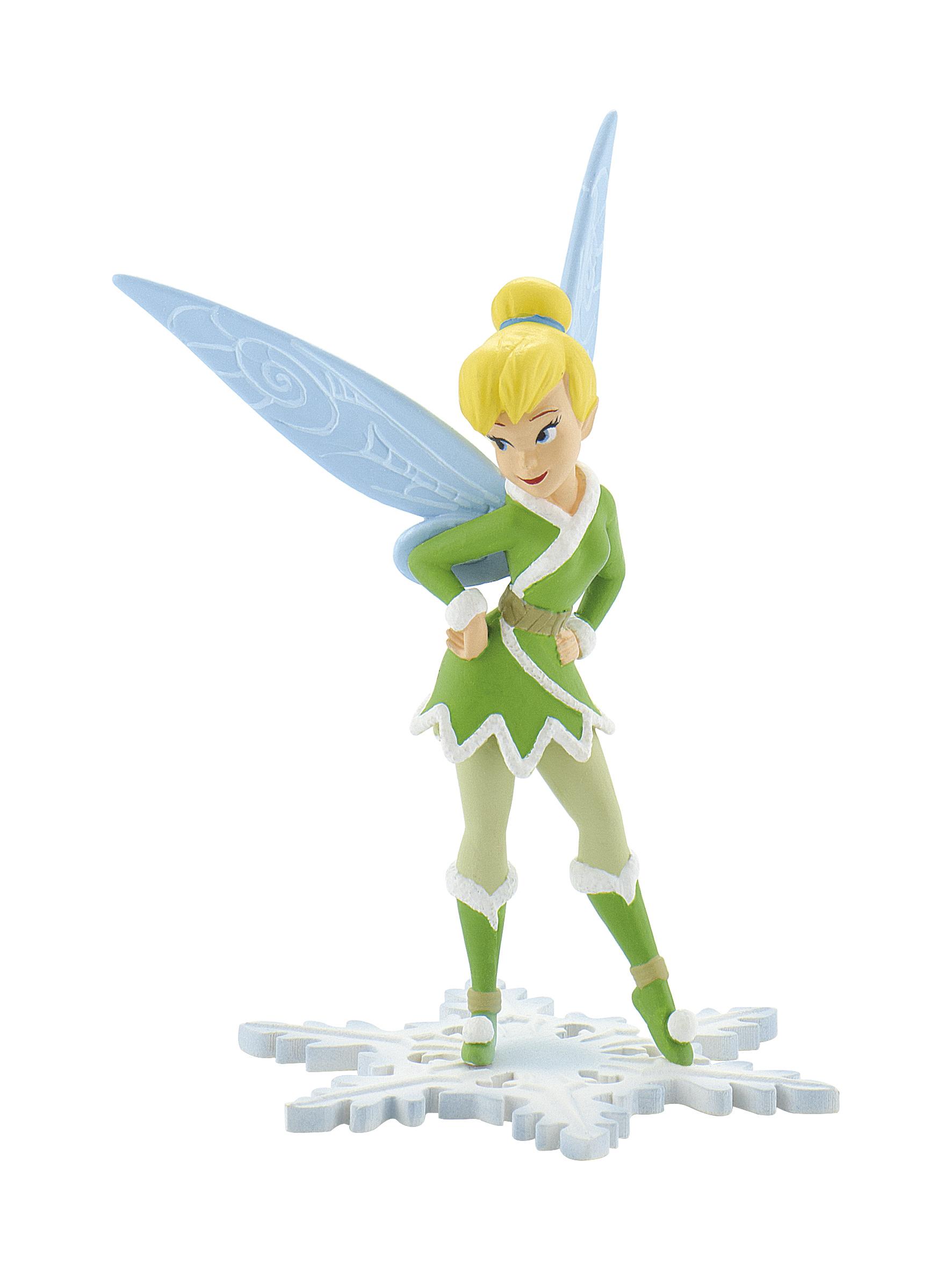Figurine Fée Clochette Hiver Disney - 10 cm
