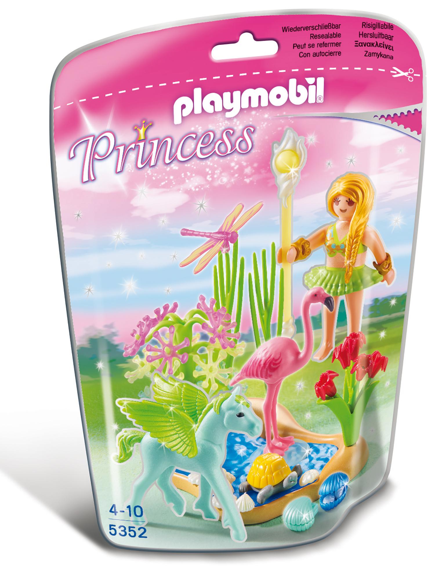 Fée Eté avec poulain ailé vert - Playmobil Princess - 5352