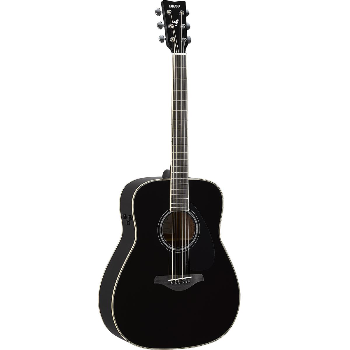 Yamaha - Guitare TransAcoustic FG-TA - Noir
