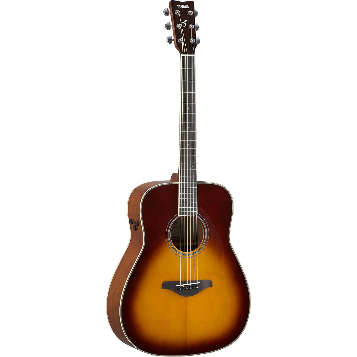 Yamaha - Guitare TransAcoustic™ FG-TA - Brown Sunburst Guitare électro-acoustique