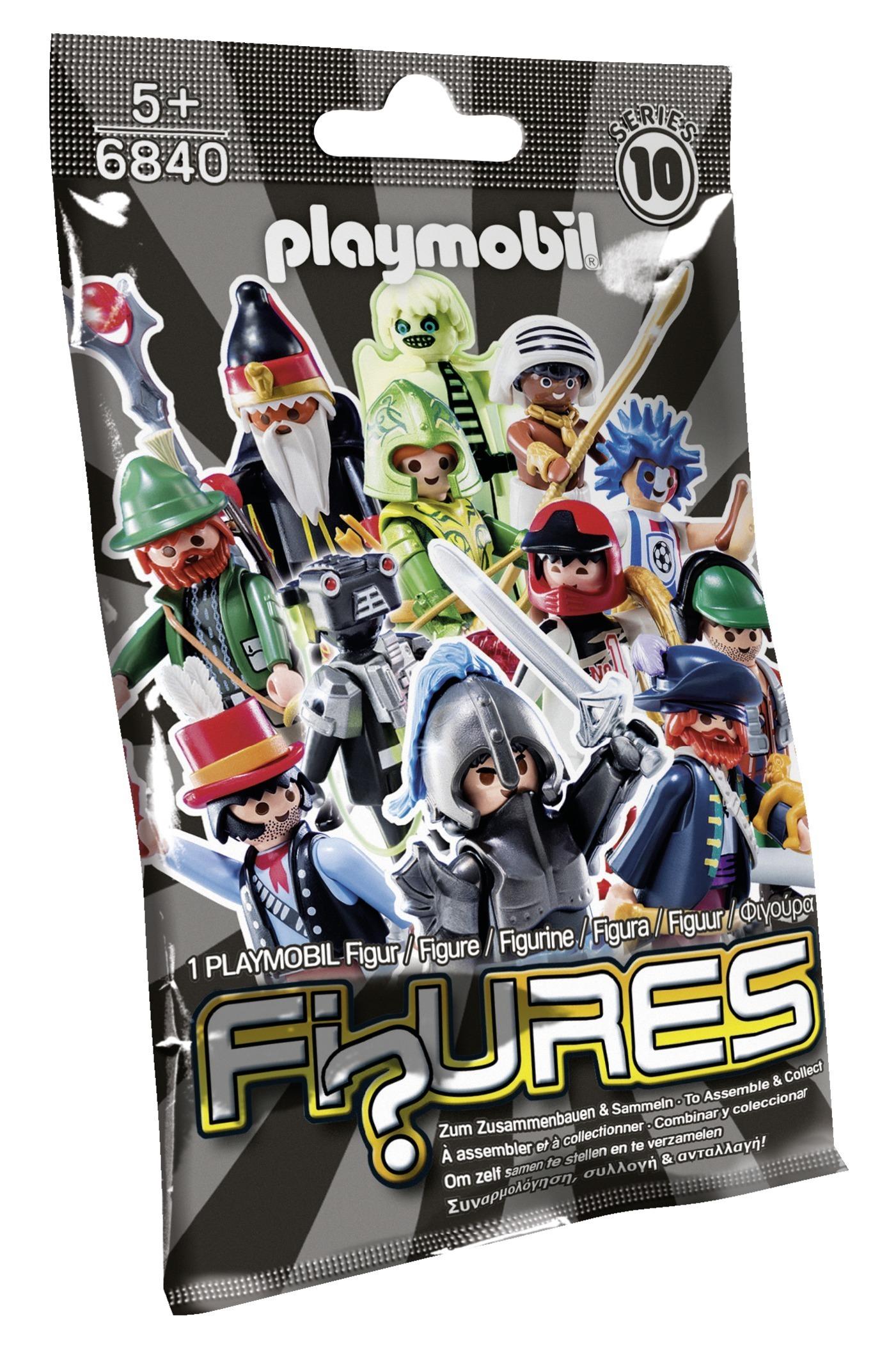 Figures garçons série 10 - Playmobil