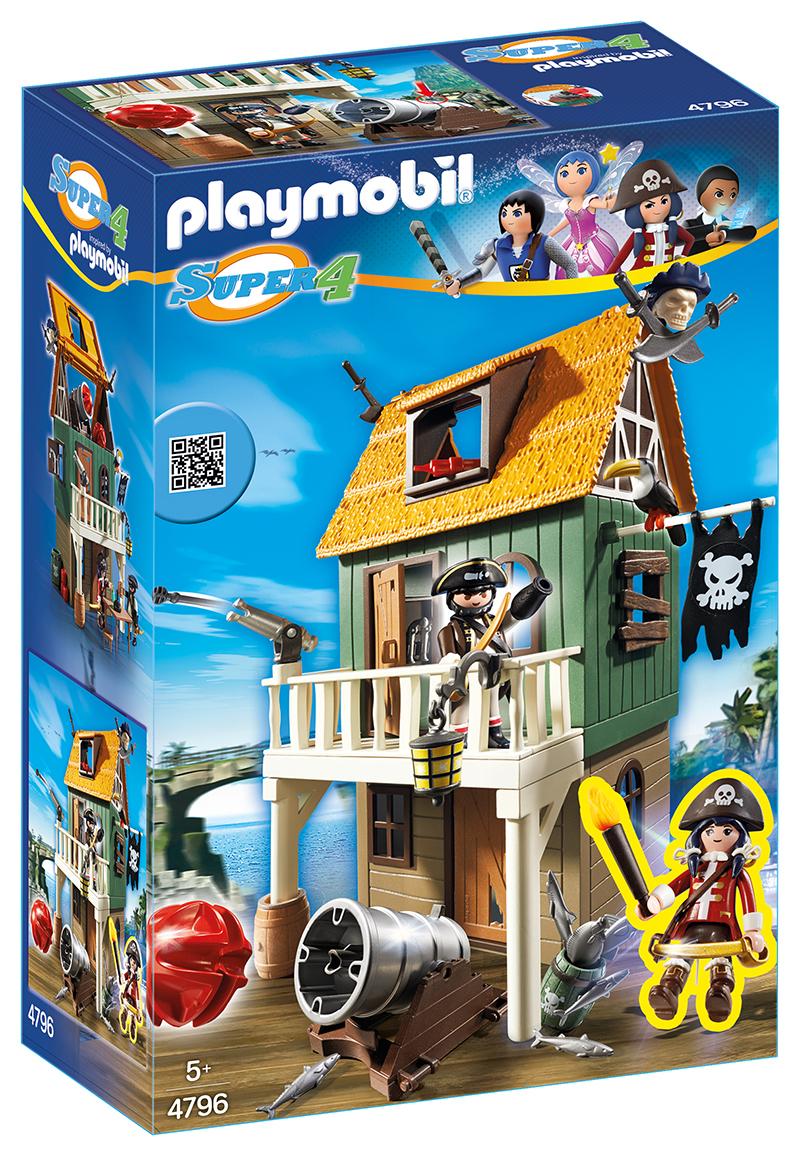 Fort des pirates camouflé avec Ruby - Playmobil - 4796