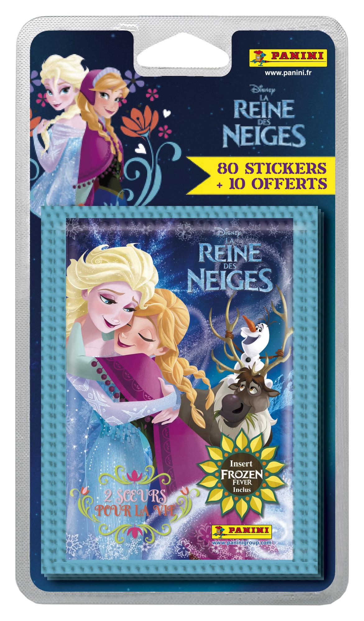 Panini la Reine des Neiges - une sur pour la vie -  90 stickers