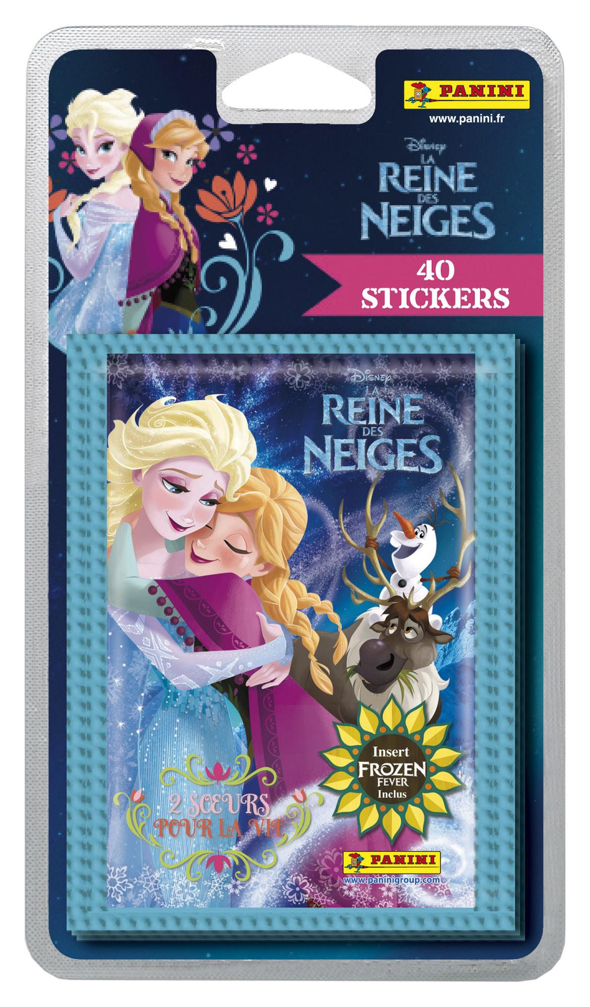 Stickers Panini Reine des Neiges - 40 stickers