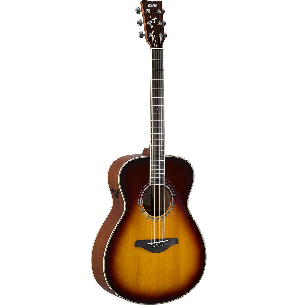 Yamaha - Guitare TransAcoustic FS-TA - Brown Sunburst
