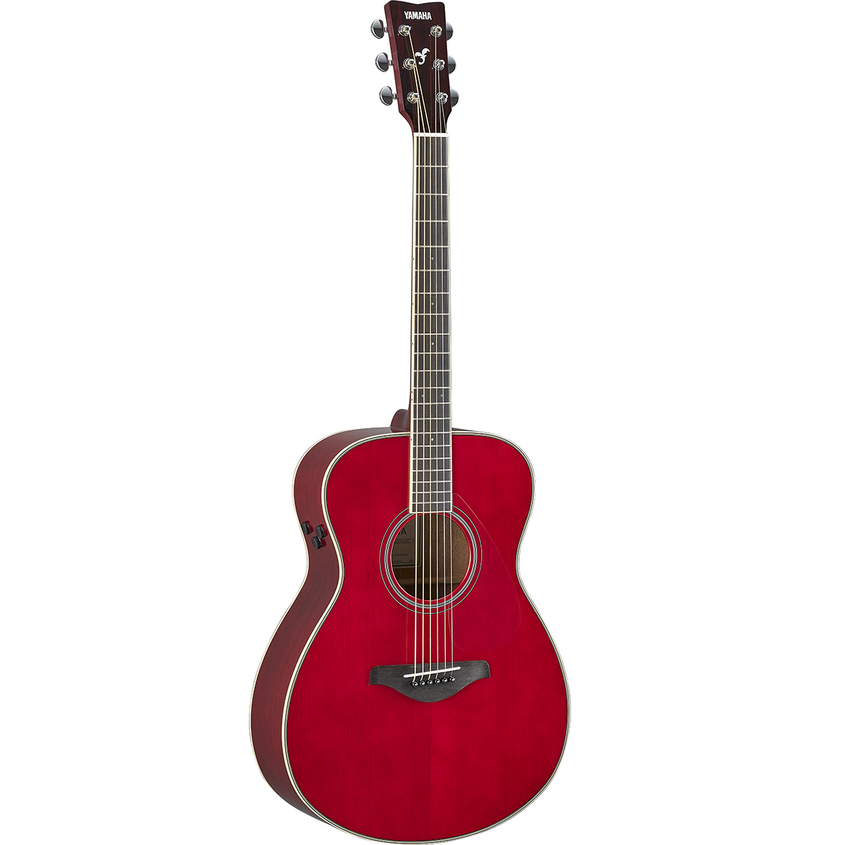 Yamaha - Guitare TransAcoustic FS-TA - Rouge