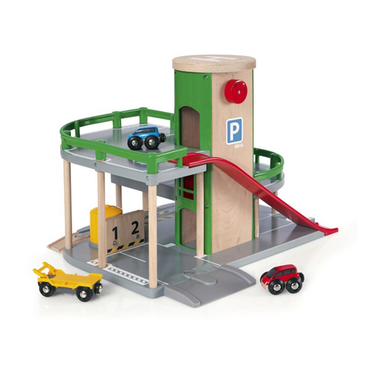 Garage rail/route - Brio