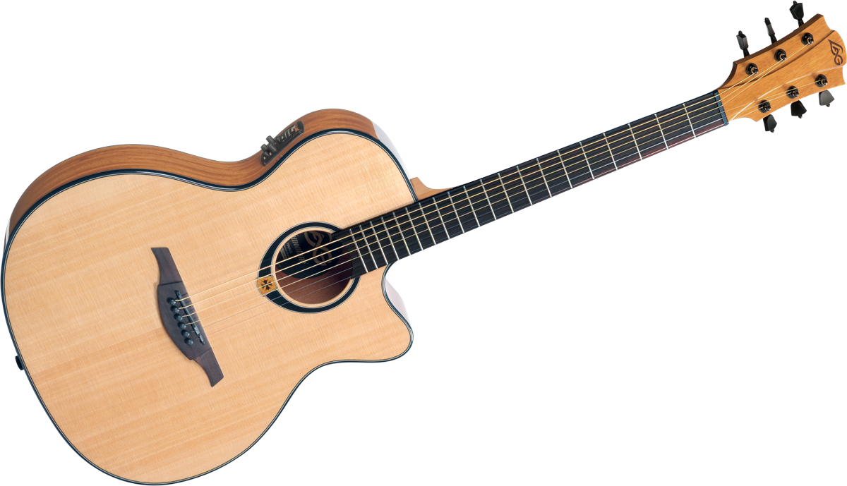 Lag - Guitare Electro-acoustique T80ACE Auditorium Cutaway - Naturel