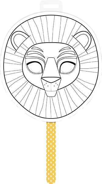 Graffy Stick Lion - Avenue Mandarine