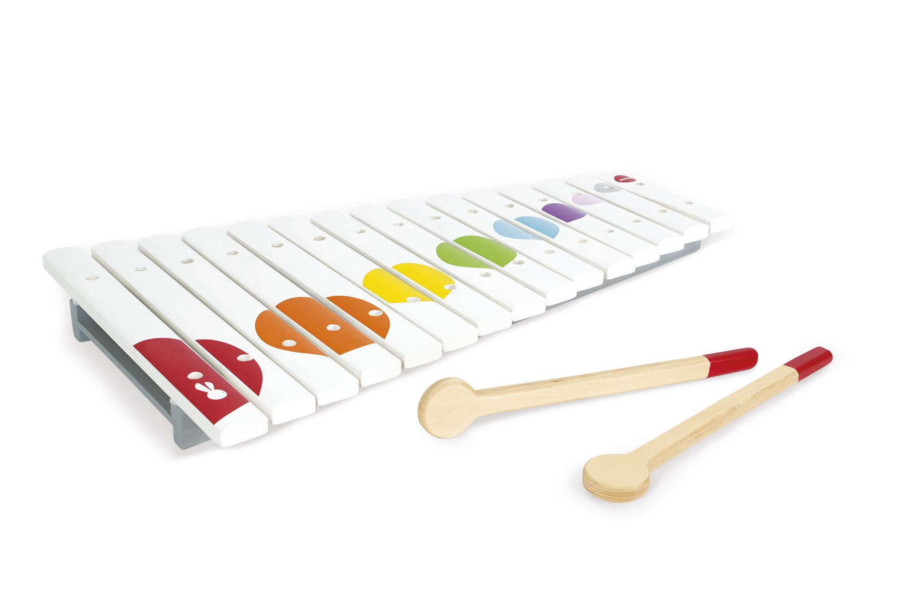 Grand xylophone Confetti bois