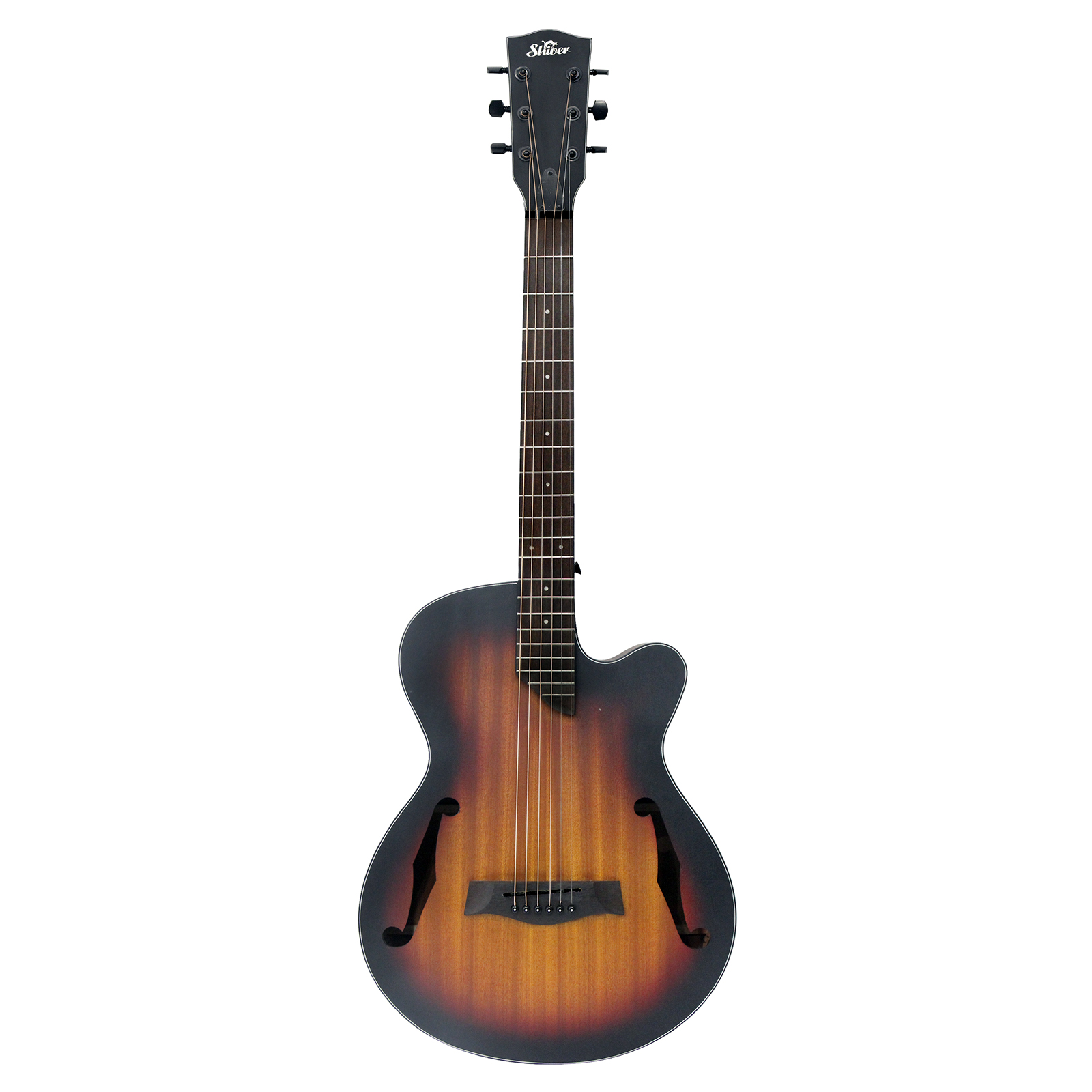 Shiver - Guitare folk GFS-F Hole - Tobacco