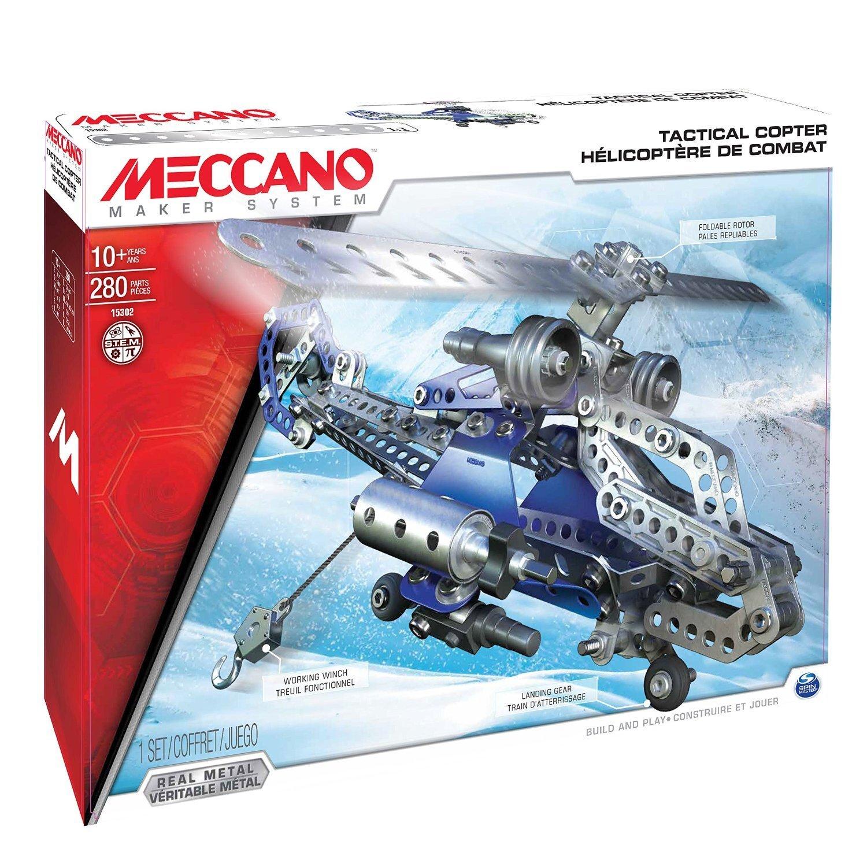 Hélicoptère de combat - 6024816 - Meccano