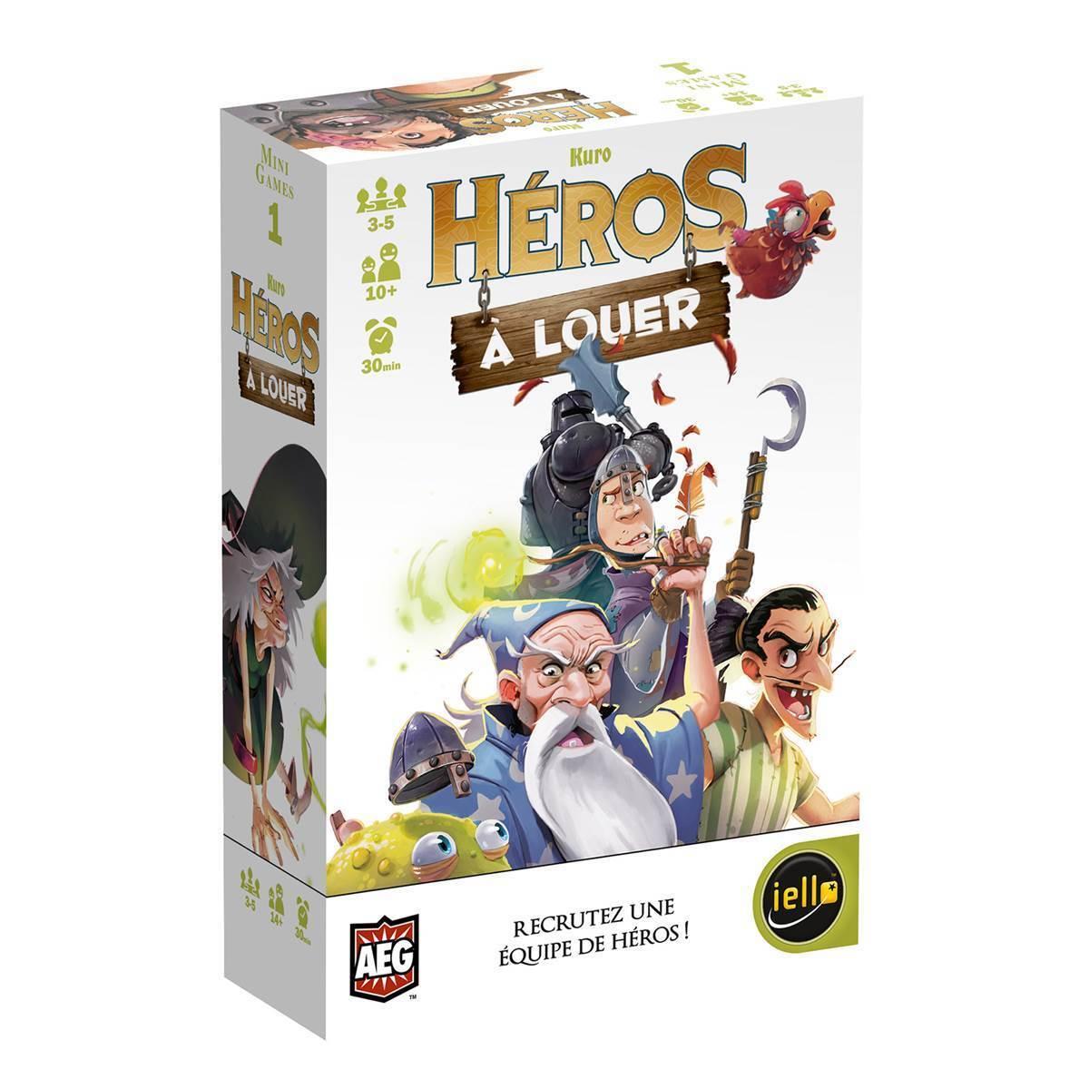 Héros à louer - Iello