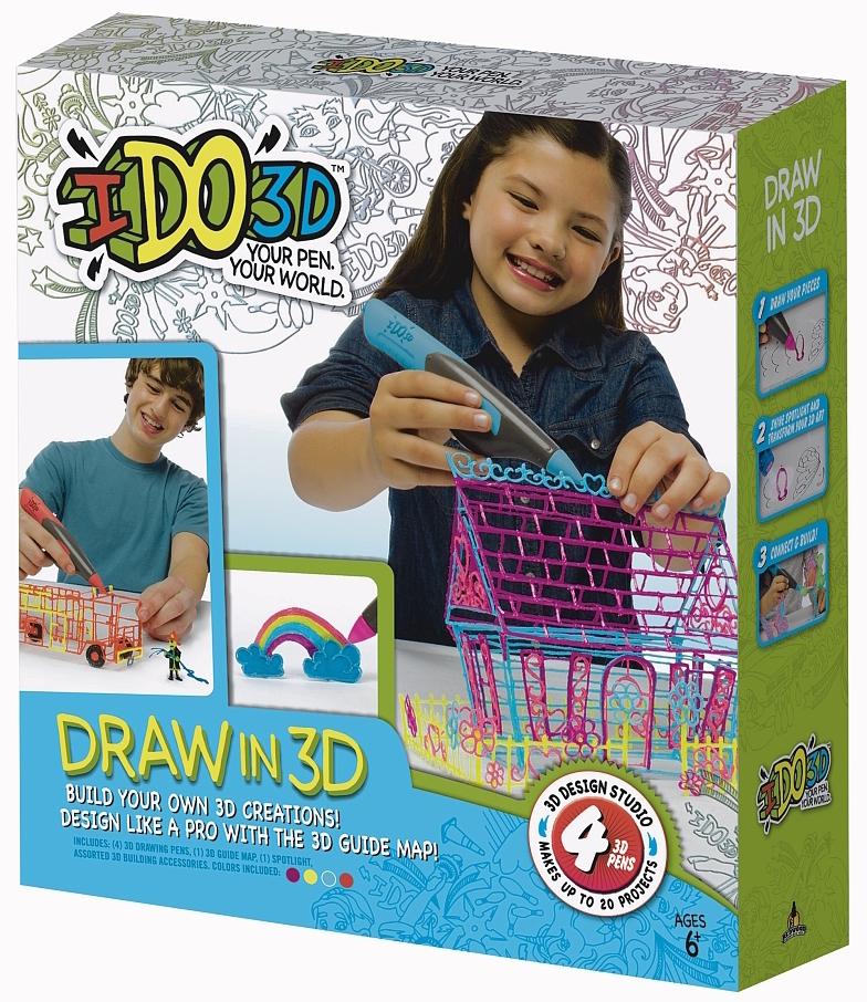 IDO 3D - Art Studio - 4 tubes