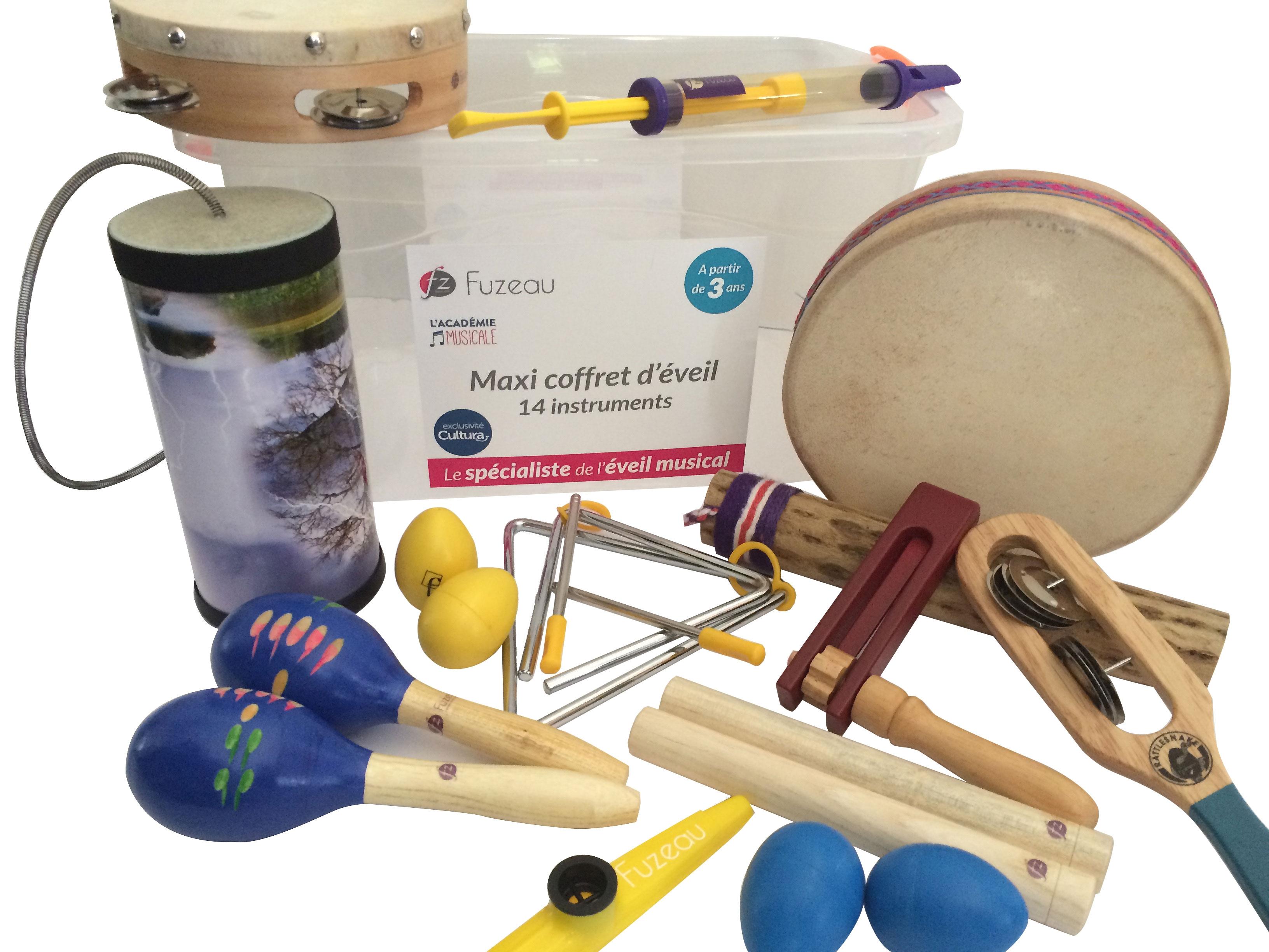 Fuzeau - Maxi coffret d\'éveil - 14 instruments
