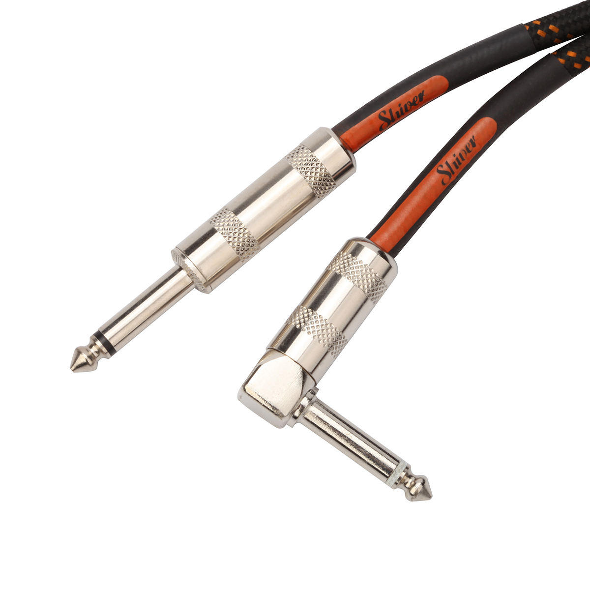 Shiver - Câble jack 6,35mm coudé longueur 3m