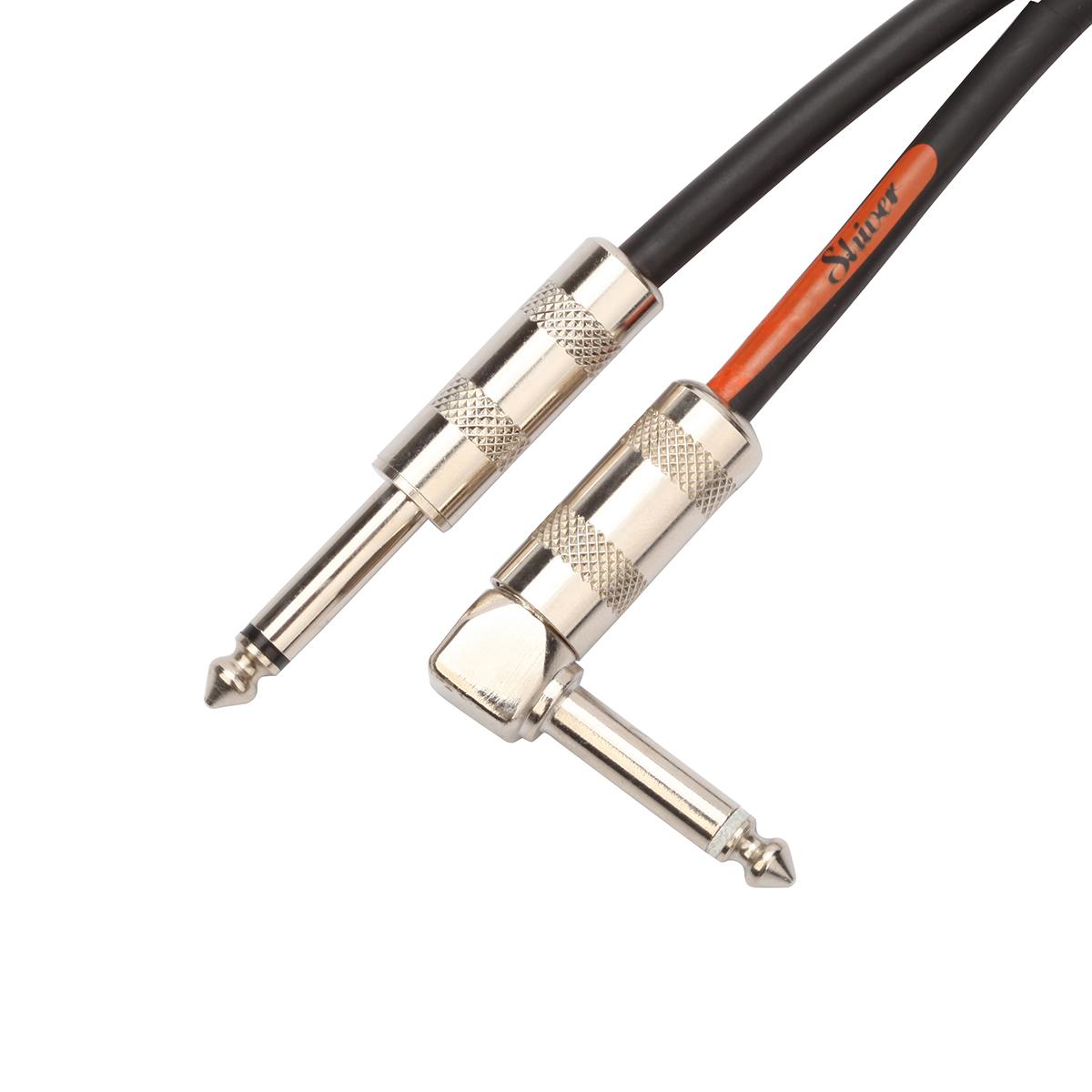 Shiver - Câble jack 6,35mm coudé longueur 6m