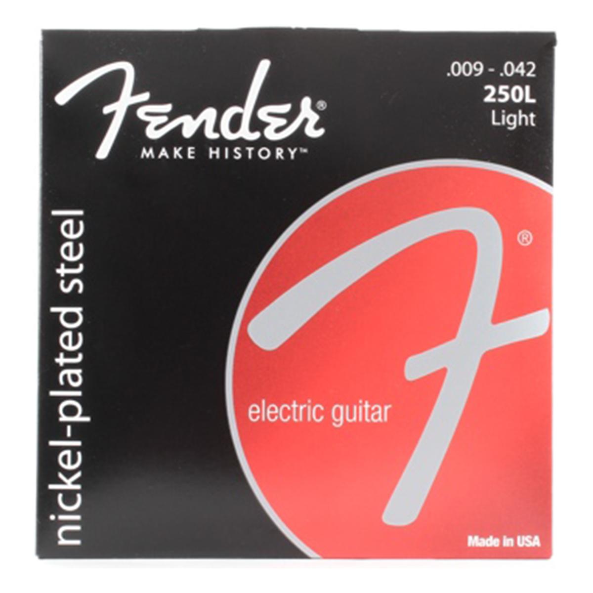Fender - Jeu cordes guitare électrique - 250L NPS - 9/42