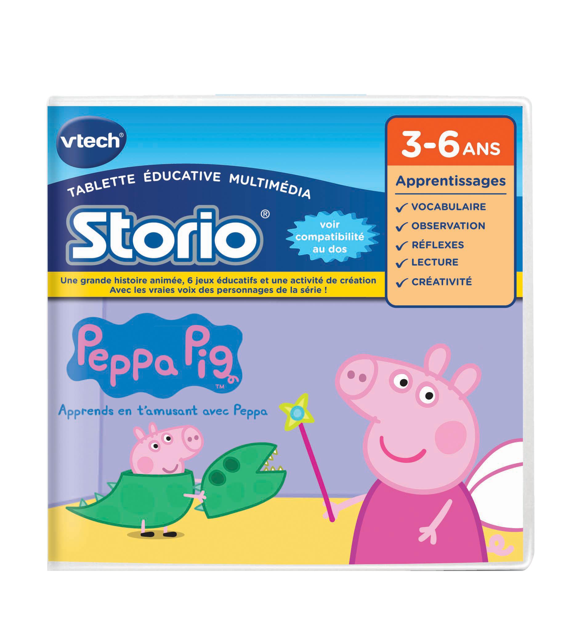 Jeu Storio - Peppa Pig
