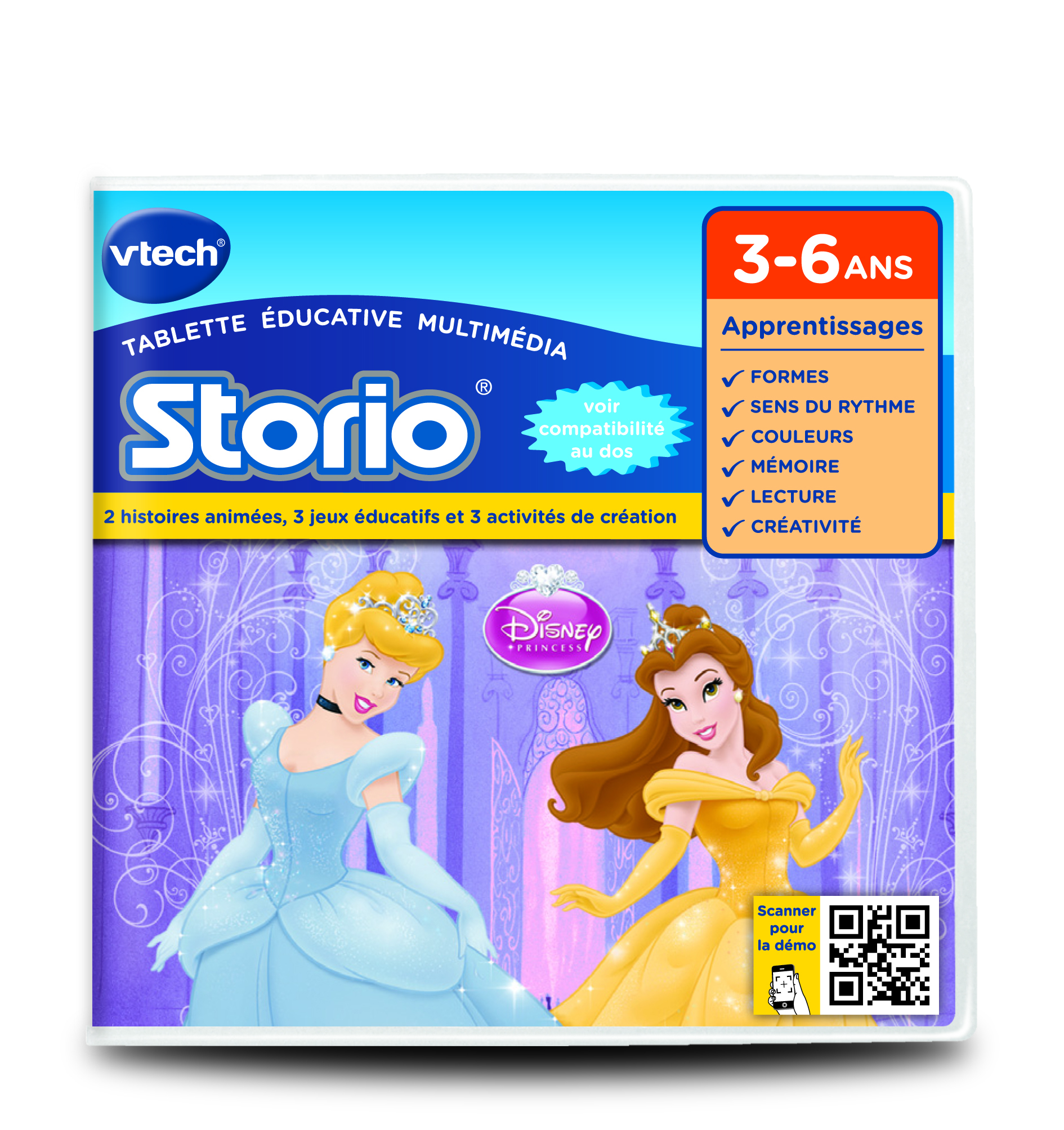 Jeu Storio - Princesses disney