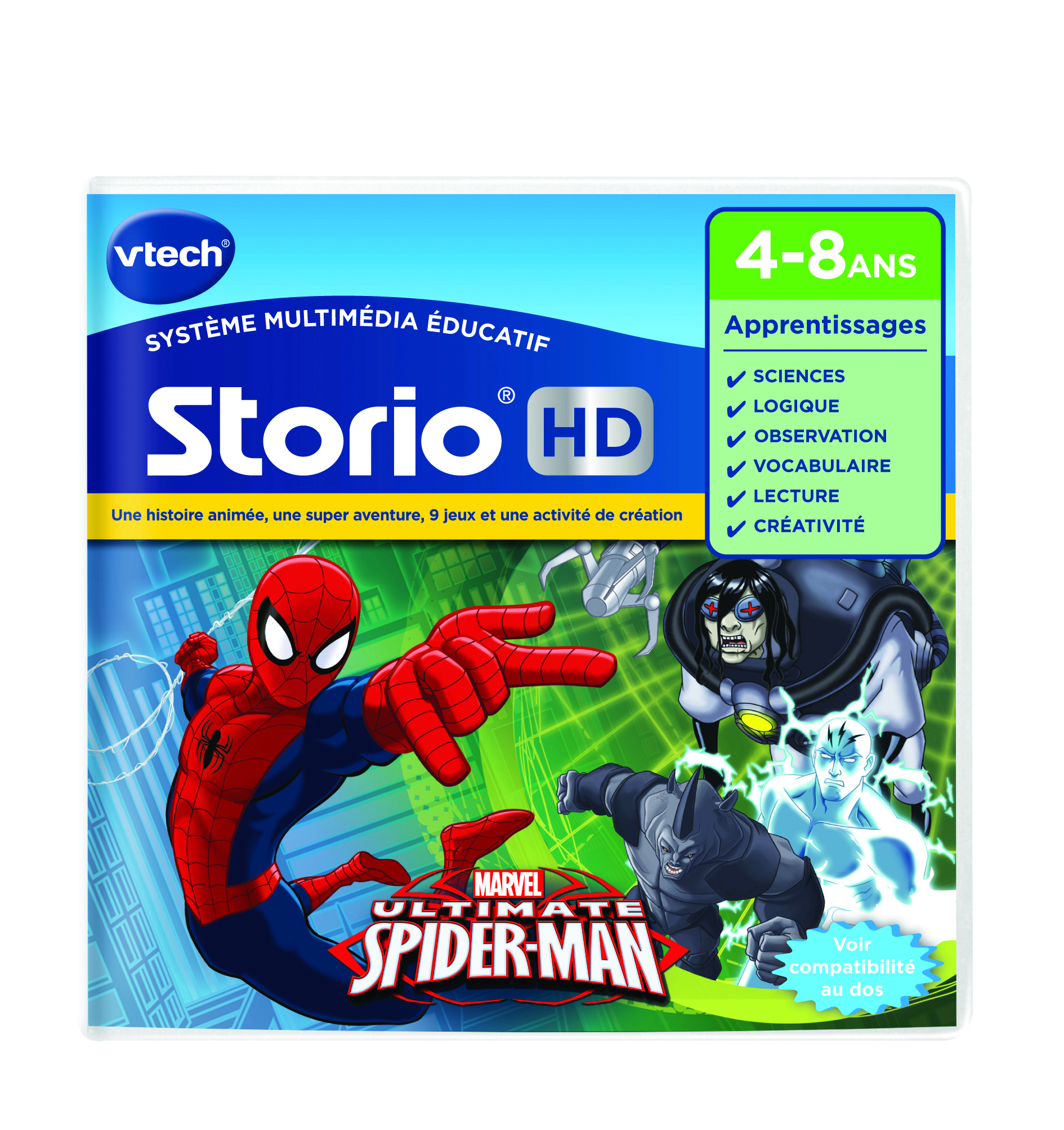 Jeu Storio - Spiderman