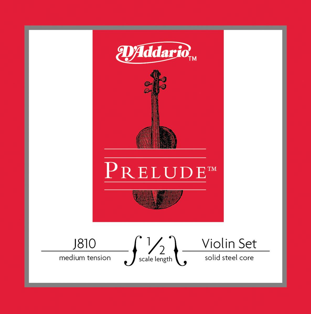 D\'Addario - Corde Prélude pour violon - J810-1-2M