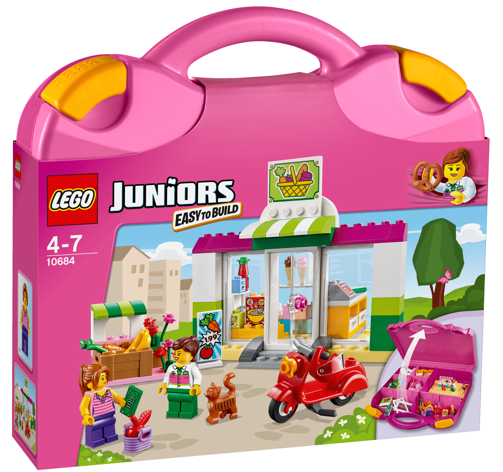 La valise Supermarché - LEGO® Juniors - 10684