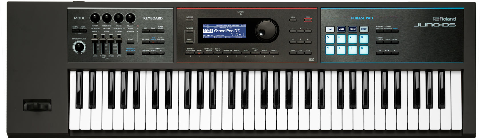 Roland JUNO-DS61 synthétiseur 61 touches Noir