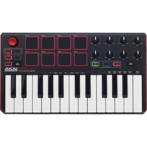 Akai Pro - Clavier maître MPK Mini MK2